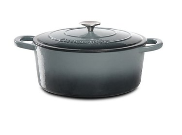 gray ceramic coated cookware by Crock-Pot