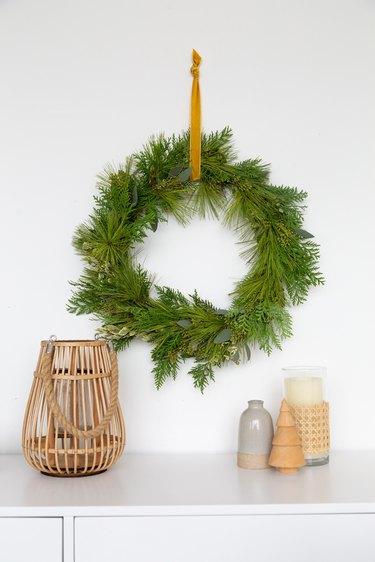 DIY Foraged Holiday Wreath