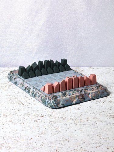 Concrete Cat Chess Set, $1,400