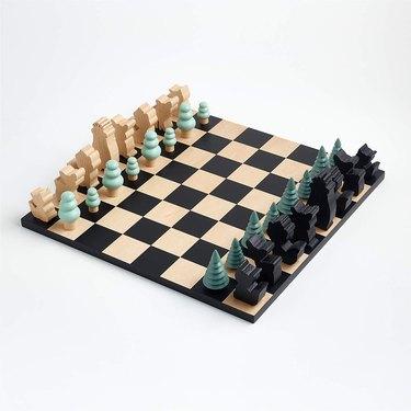 Crate&kids Woodland Wonder Chess Set, $99