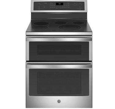 convection range with double oven by GE