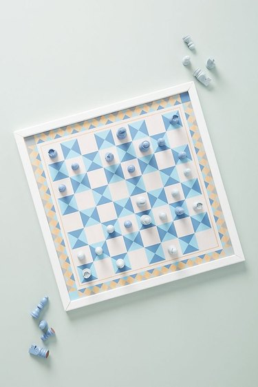 Anthropologie Chess and Pachisi Game Board, $34