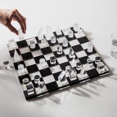 Poketo Prism Chess Set, $120