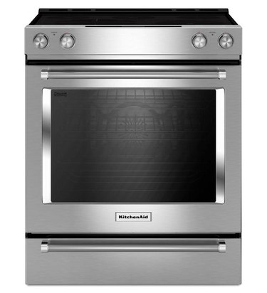 stainless steel flat top electric stove