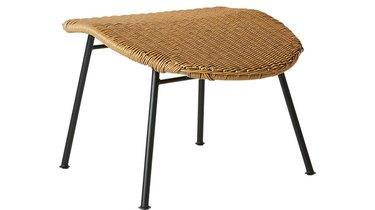 CB2 Outdoor Basket Ottoman, $149