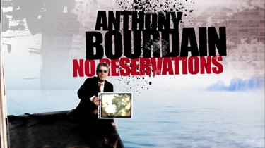 title card of no reservations