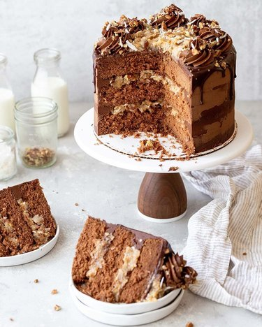 Grandbaby Cakes German Chocolate Cake
