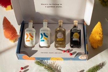 Brightland olive oil and vinegar gift set
