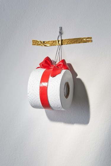 Urbant Outfitters Toilet Paper Christmas Ornament, $12