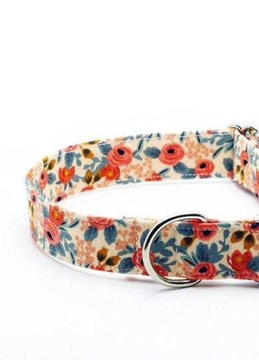 floral cat collar