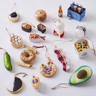Cody Foster Food Ornaments, $24-$58