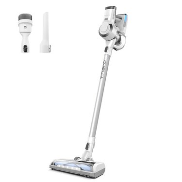 silver cordless vacuum