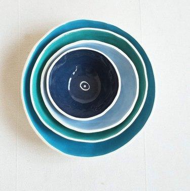 blue nesting bowls