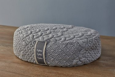 Brentwood Home Crystal Cove Oval Meditation Yoga Pillow