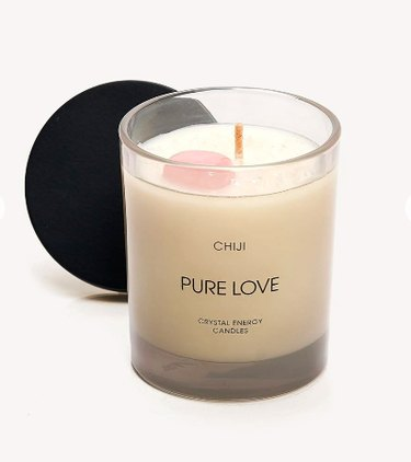 Chiji Pure Love Crystal Energy Candle