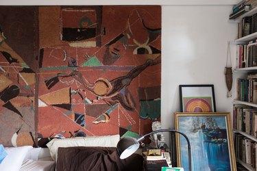Artwork on floor