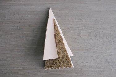 Sliding triangles together to form tree