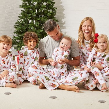 HART + LAND holiday pima cotton pajamas