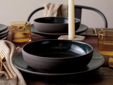 table with bowls
