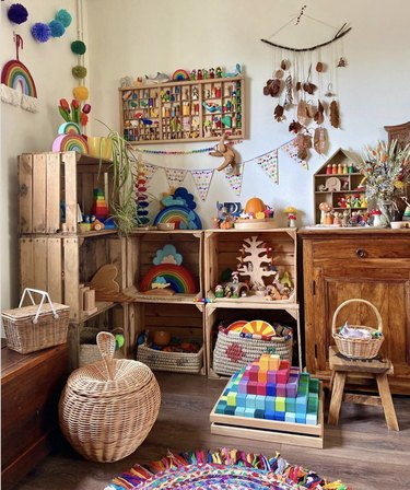 Toy storage in Cornwall