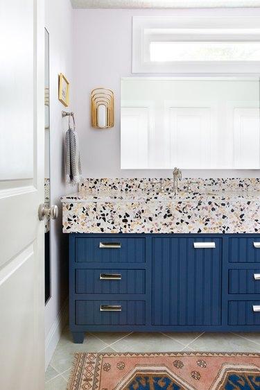 bathroom vanity paint ideas