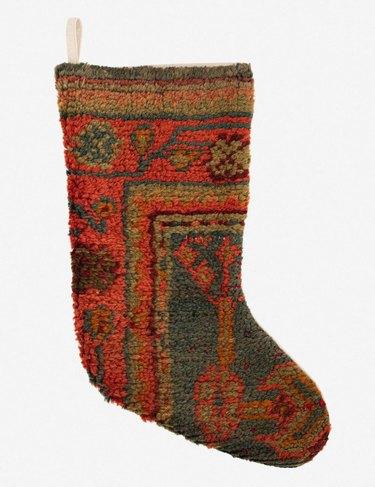 Frances Loom Vintage Stocking, $165
