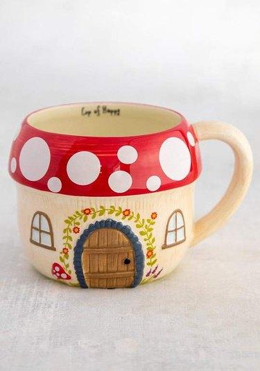 cottagecore holiday gift guide folk art mug