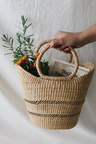 cottagecore holiday gift guide basket
