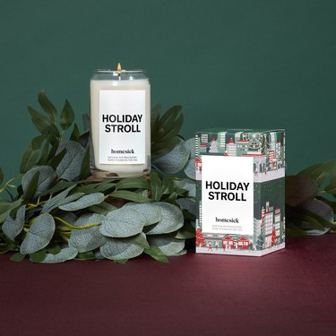 Homesick Holiday Stroll Candle, $34