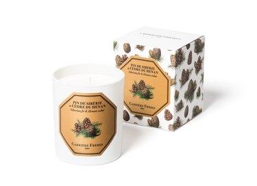 Carrière Frères Siberian Fir and Henan Cedar Candle, $62