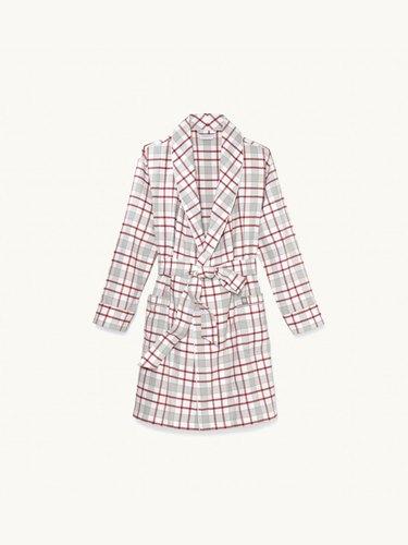 Boll & Branch Women's Flannel Robe