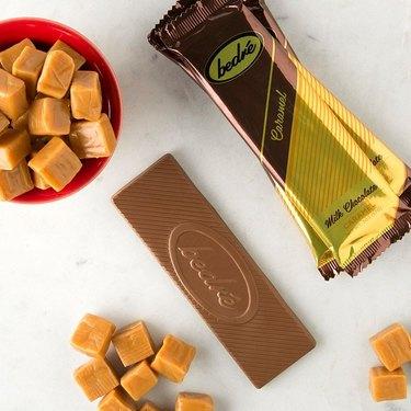 Bedré Fine Chocolate caramel chocolate bar
