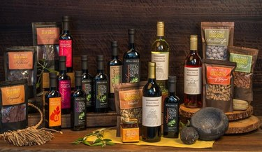 séka hills olive oil, vinegars, nuts, and wines
