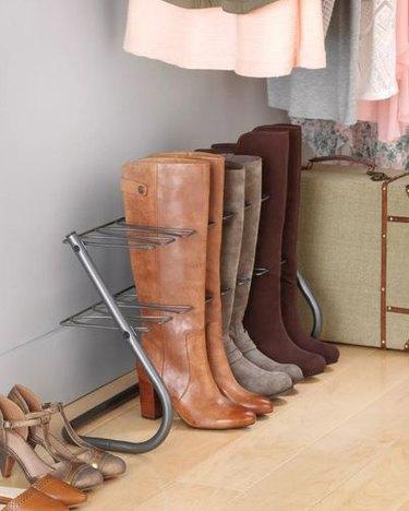 boot storage rack