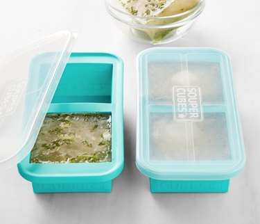 freezable 2-cup soup food storage containers