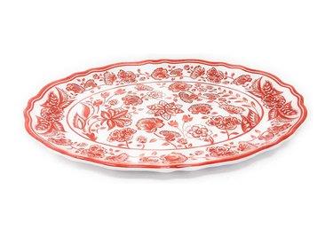 Le Cadeaux Jardin Melamine Oval Platter