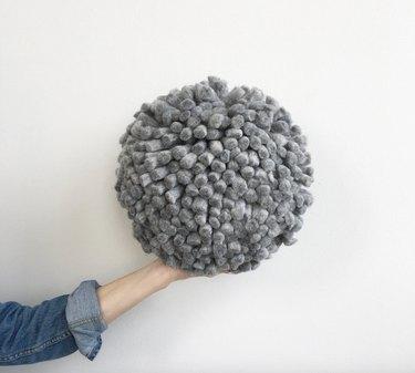 round ball pillow
