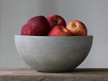 Roughfusion Large Concrete Fruit Bowl