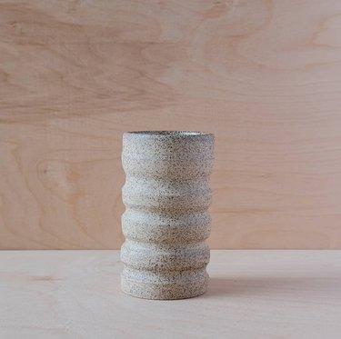 minimal contemporary ceramics vase