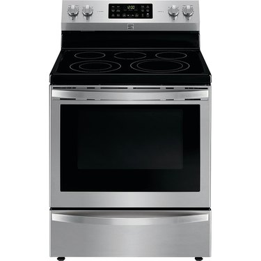 Kenmore stove 92633 5.4 cu. ft. Electric Range with Convection in Stainless Steel, $809.99