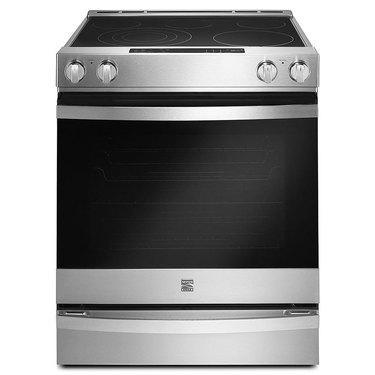 Kenmore stove Elite 95223 6.4 cu. ft. Freestanding Electric Range in Stainless Steel, $1583.99