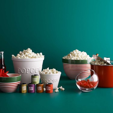 movie lover holiday gift guide popcorn set