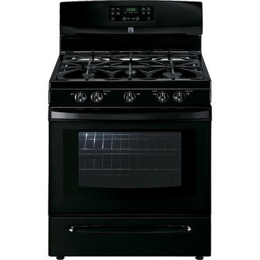 Kenmore stove 74139 5.0 cu. ft. Freestanding Gas Range with Variable Self-Clean in Black, $809.99