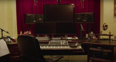 Danny Elfman's music studio
