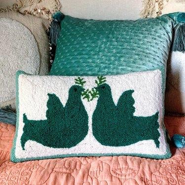 Jungalow Noa Hook Pillow by Justina Blakeney