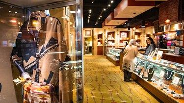 interior of Indian Pueblo Store