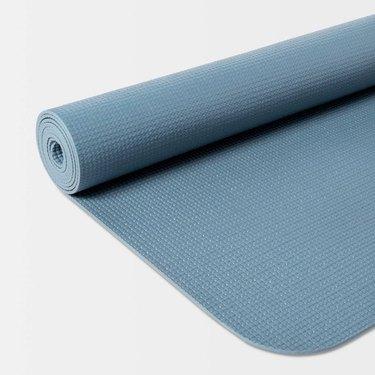 Target Yoga Mat in blue