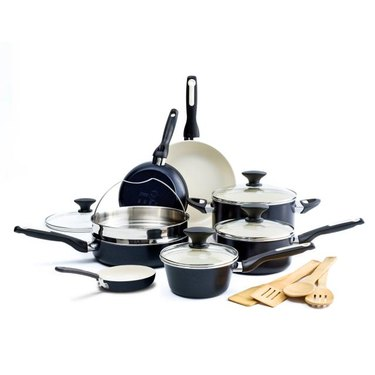 greenpan black ceramic cookware set