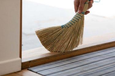 cleaning hacks broom