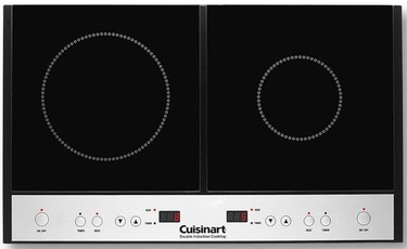 Electric Stove Burner from Cuisinart Double Induction Cooktop